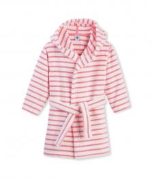 Махровый халат в полоску для девочки d887d328b71d2