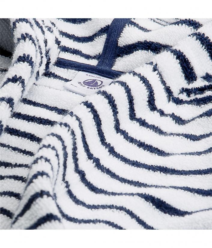 Махровый халат в полоску для мальчика Petit Bateau купить в Киеве и ... 50e4ba48d570f